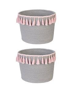 set-of-2-cotton-storage-baskets