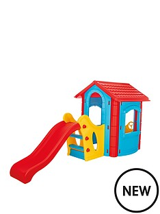 happy-house-with-slide