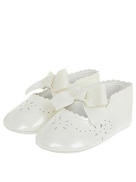 monsoon-baby-girls-flora-ivory-patent-bootie-ivory