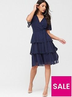 quiz-quiz-chiffon-tiered-midi-dress-navy