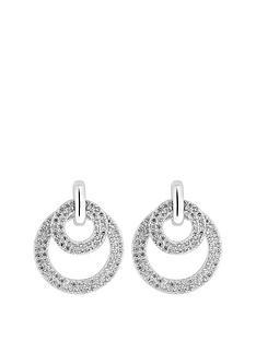 simply-silver-simply-silver-sterling-silver-cubic-zirconia-hoop-door-knocker-earrings