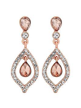mood-double-teardrops-rose-gold-earrings