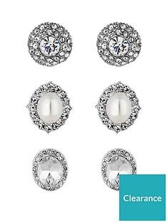 mood-silver-plated-3-pack-stud-earrings