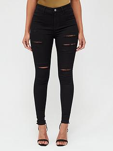 v-by-very-addison-razor-rip-super-high-waisted-super-skinny-jeans-black