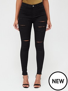 v-by-very-addison-razor-rip-super-high-waisted-super-skinny-jeans-black