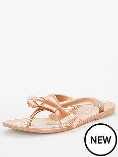 ted-baker-luzzi-origami-bow-flip-flop-rose-gold