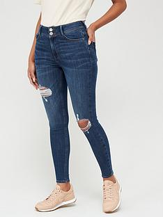 v-by-very-shaping-knee-rip-skinny-jean-dark-wash