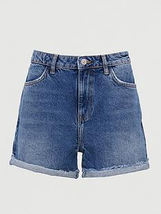 v-by-very-mom-high-waist-authentic-shorts-mid-wash
