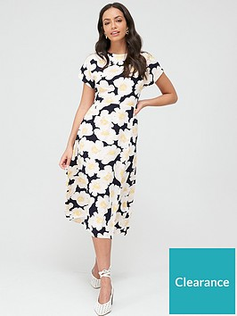 warehouse-nicky-floral-midi-dress-multi
