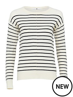 v-by-very-striped-seam-front-detail-button-hem-jumper-ivoryblack