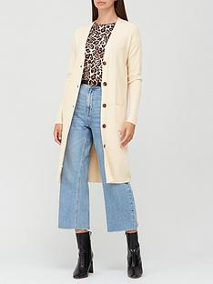 v-by-very-rib-button-up-longline-cardigan-oatmeal
