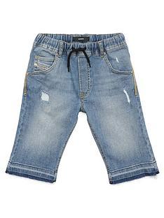diesel-boys-denim-jog-short