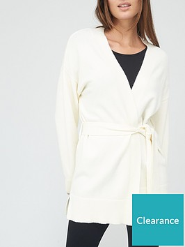 v-by-very-tie-waist-cardigan-ivory