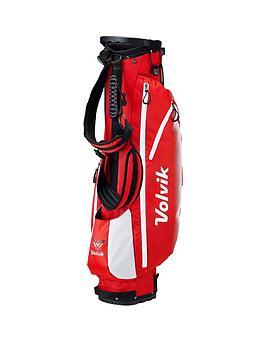 volvik-vivid-golf-standbag-red