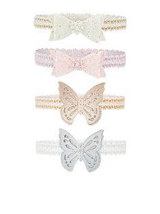 monsoon-baby-girls-butterfly-spot-bow-bando-set-multi