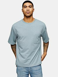 topman-oversized-t-shirt-blue