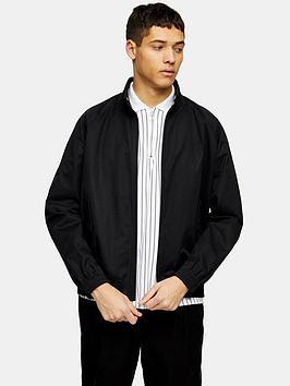 topman-harrington-jacket-black