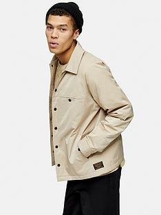 topman-covert-coach-jacket-beigenbsp