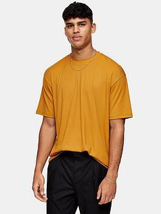 topman-rib-texture-t-shirt-mustard