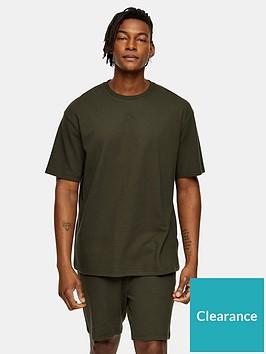 topman-ribbed-shorts-khaki