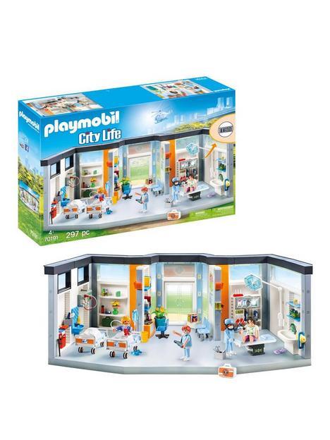 playmobil-70191-city-life-hospital-clinic