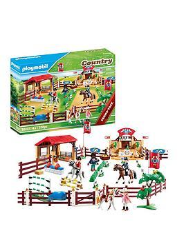 playmobil-70337-country-farm-horse-riding-arena