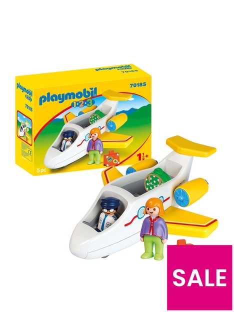 playmobil-123-70185-plane-with-passenger-for-children-18-months
