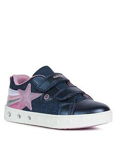 geox-girls-skyline-strap-trainers-navy
