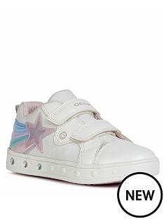 geox-girls-skyline-strap-trainers-white