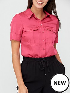 v-by-very-formal-utility-shirt-pink