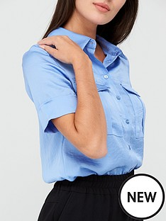 v-by-very-formal-utility-shirt-blue