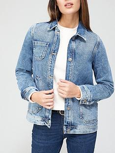 v-by-very-patch-pocket-denim-jacket-vintage-wash