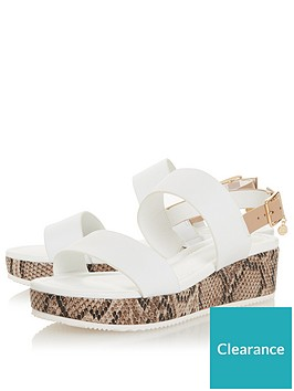 dune-london-lennie-mix-material-flatform-low-wedge-sandal-white