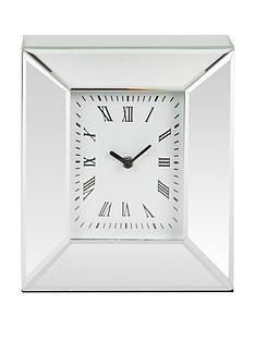 rectangle-mirrored-mantel-clock