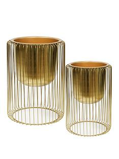 hestia-set-of-2-gold-finish-metal-planters