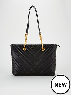 dkny-vivian-chevron-quilted-lamb-leather-tote-bag-blacknbsp