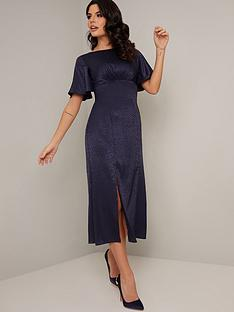 chi-chi-london-dalisay-dress-navy