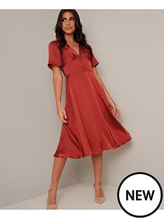 chi-chi-london-jaslene-dress-rust