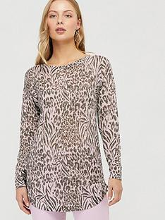 monsoon-animal-print-linen-blend-jumper-multi