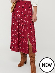 monsoon-betty-print-ecovero-tiered-skirt-red
