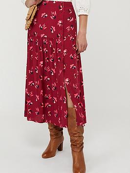 monsoon-betty-print-ecovero-tiered-skirt-red