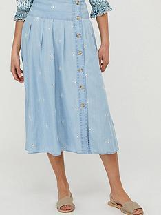 monsoon-elsie-embroiderednbspskirt-blue