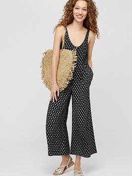 monsoon-helena-heritagenbspprint-jumpsuit-black