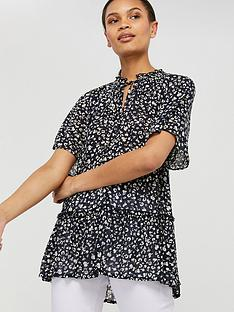 monsoon-natalie-print-sustainable-viscose-top-navy