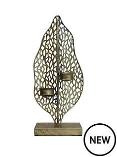 arthouse-leaf-tealight-holder