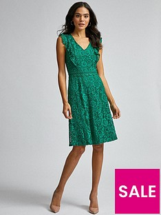 dorothy-perkins-lace-ruffle-taylor-dress-greennbsp