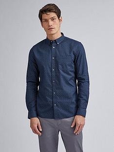 burton-menswear-london-foulard-print-long-sleeve-shirt-navy