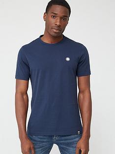 pretty-green-mitchell-logo-short-sleevenbspt-shirt-navy