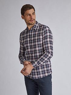 burton-menswear-london-check-long-sleeve-shirt-navy