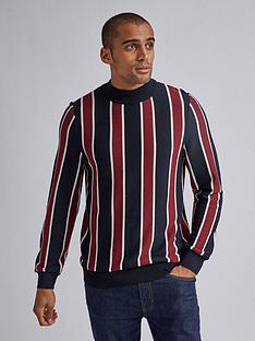 burton-menswear-london-pvertical-stripe-turtle-neck-jumper-navyredp
